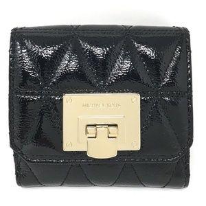 Michael Kors Vivianne Trifold Coin Leather Wallet